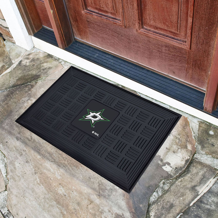Dallas Stars MEDALLION Vinyl Door Mat