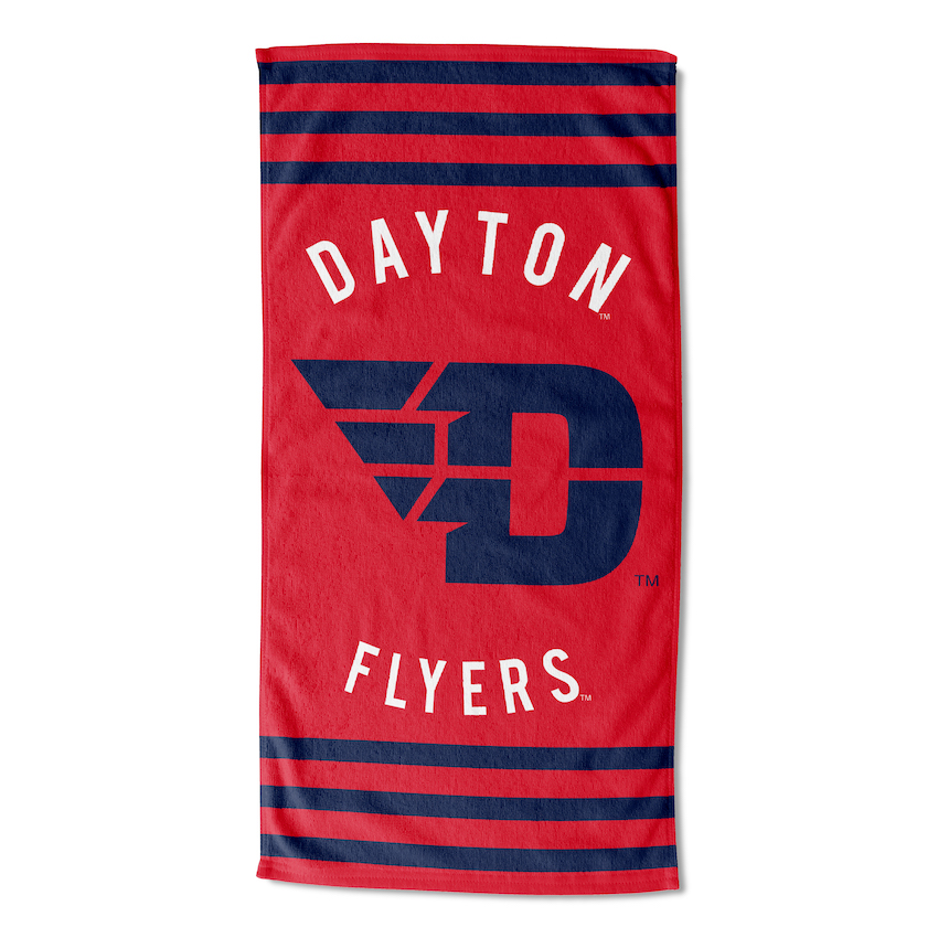 Dayton Flyers Beach Towel