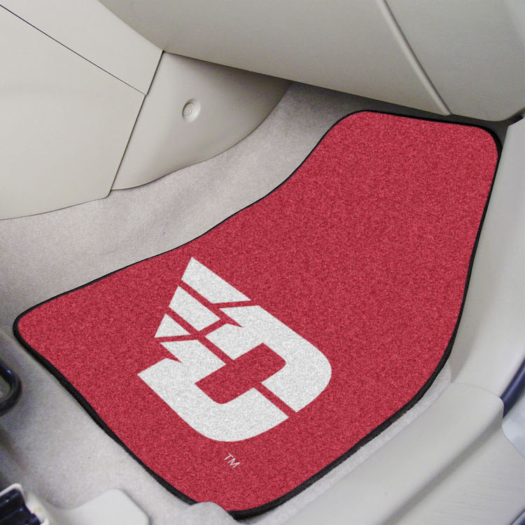 Dayton Flyers Car Floor Mats 18 x 27 Carpeted-Pair