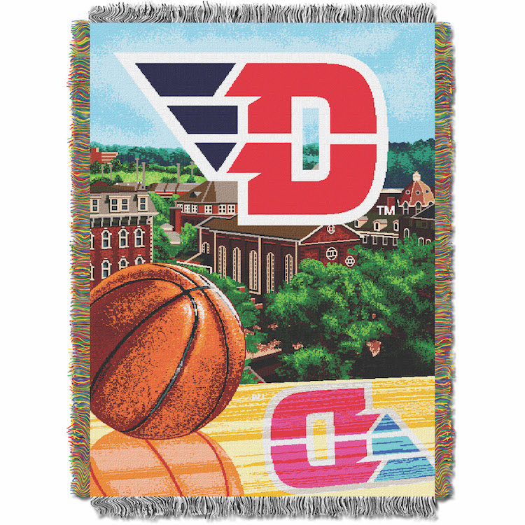 Dayton Flyers Home Field Advantage Series Tapestry Blanket 48 x 60