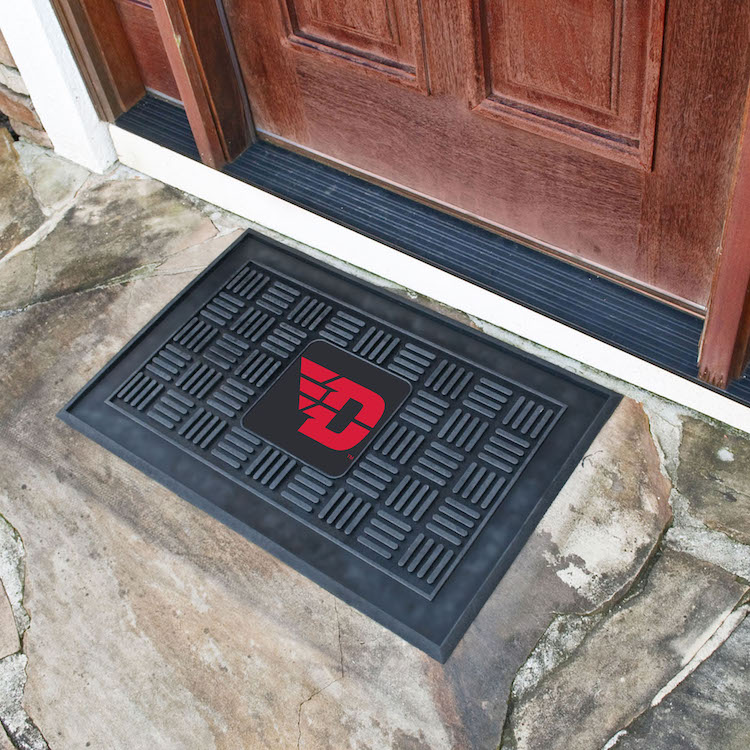 Dayton Flyers MEDALLION Vinyl Door Mat