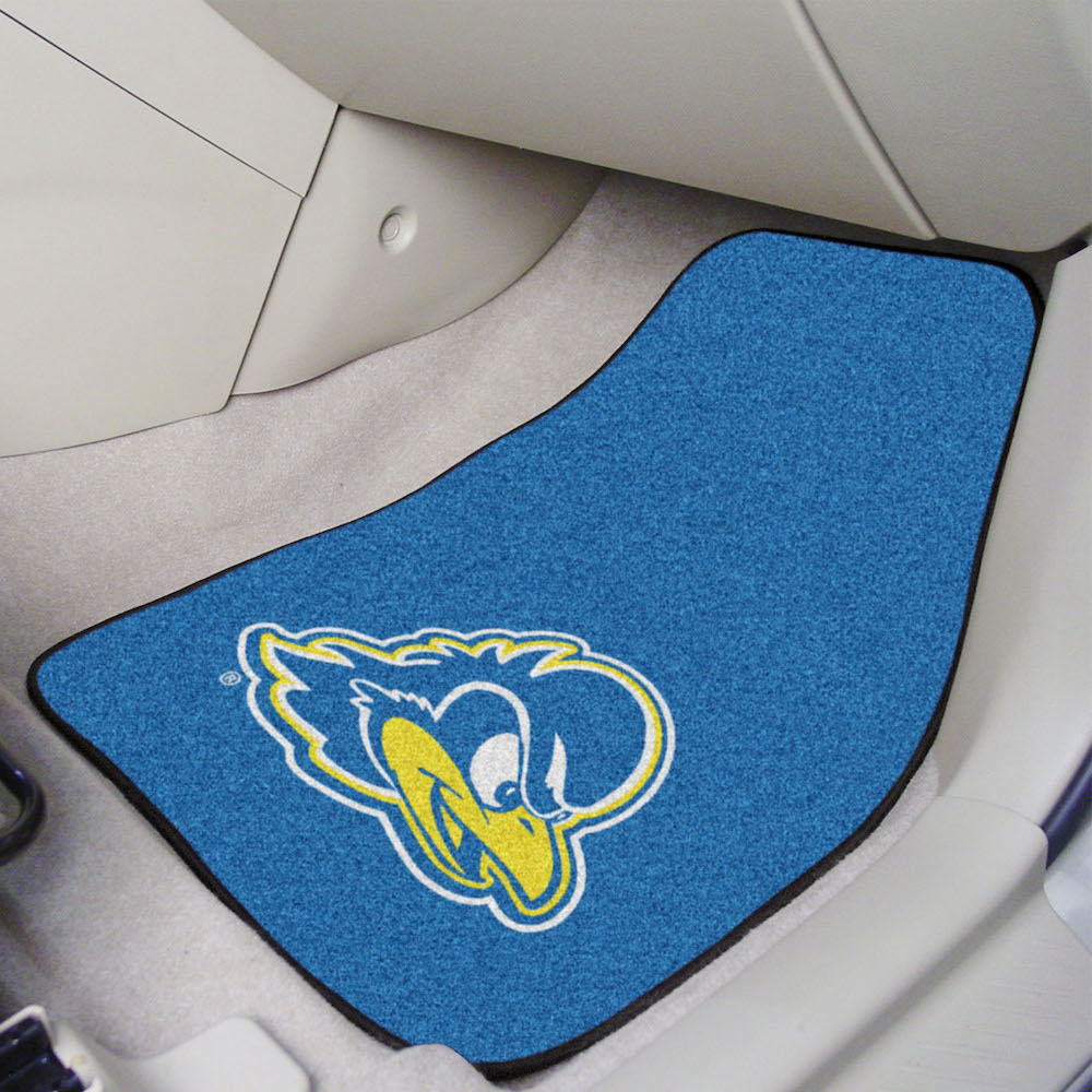 Delaware Blue Hens Car Floor Mats 18 x 27 Carpeted-Pair