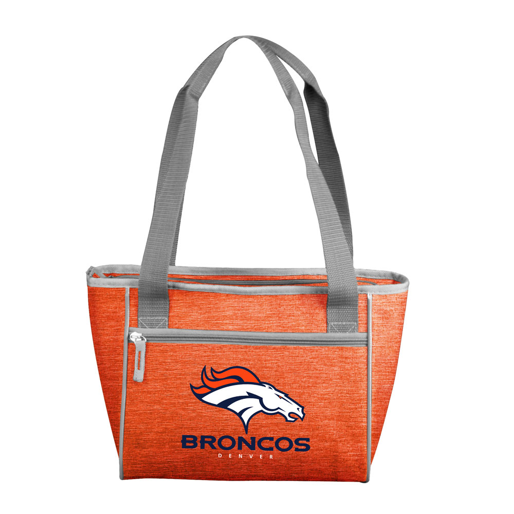 Denver Broncos Crosshatch 16 Can Cooler Tote