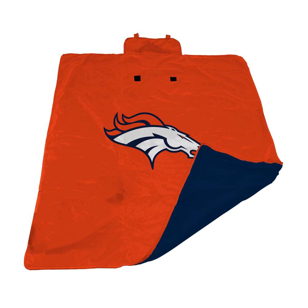 Denver Broncos All Weather Outdoor Blanket