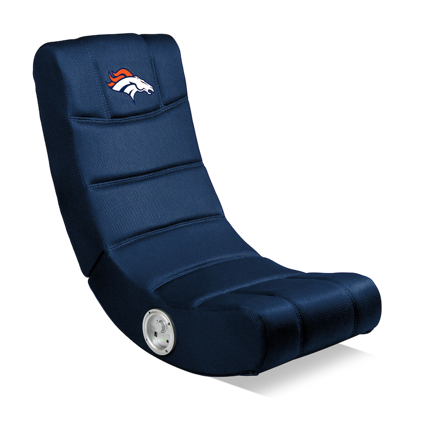 Denver Broncos Video Gaming Chair with Bluetooth