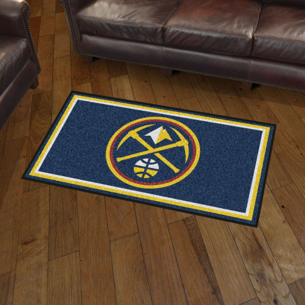 Denver Nuggets 3x5 Area Rug