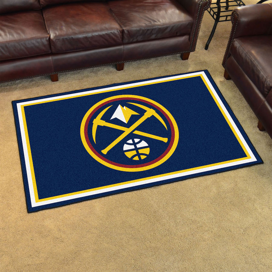 Denver Nuggets 4x6 Area Rug