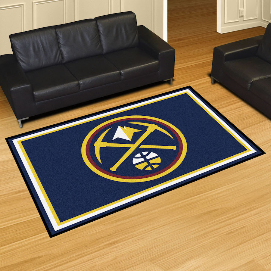 Denver Nuggets 5x8 Area Rug