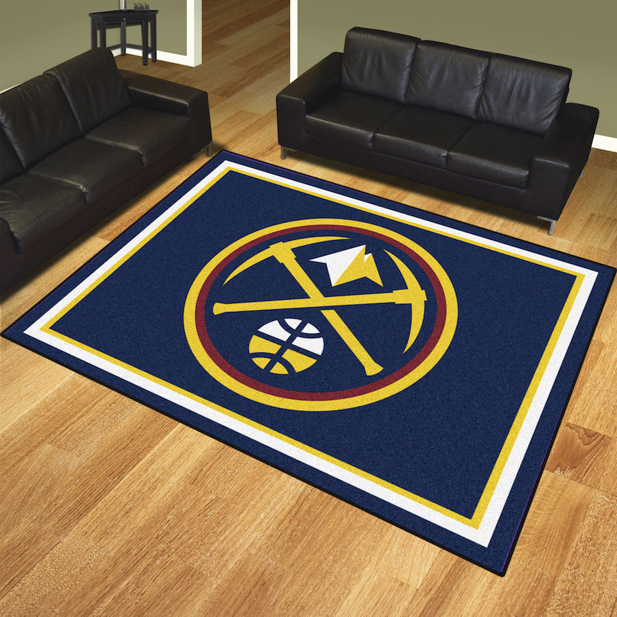 Denver Nuggets Ultra Plush 8x10 Area Rug