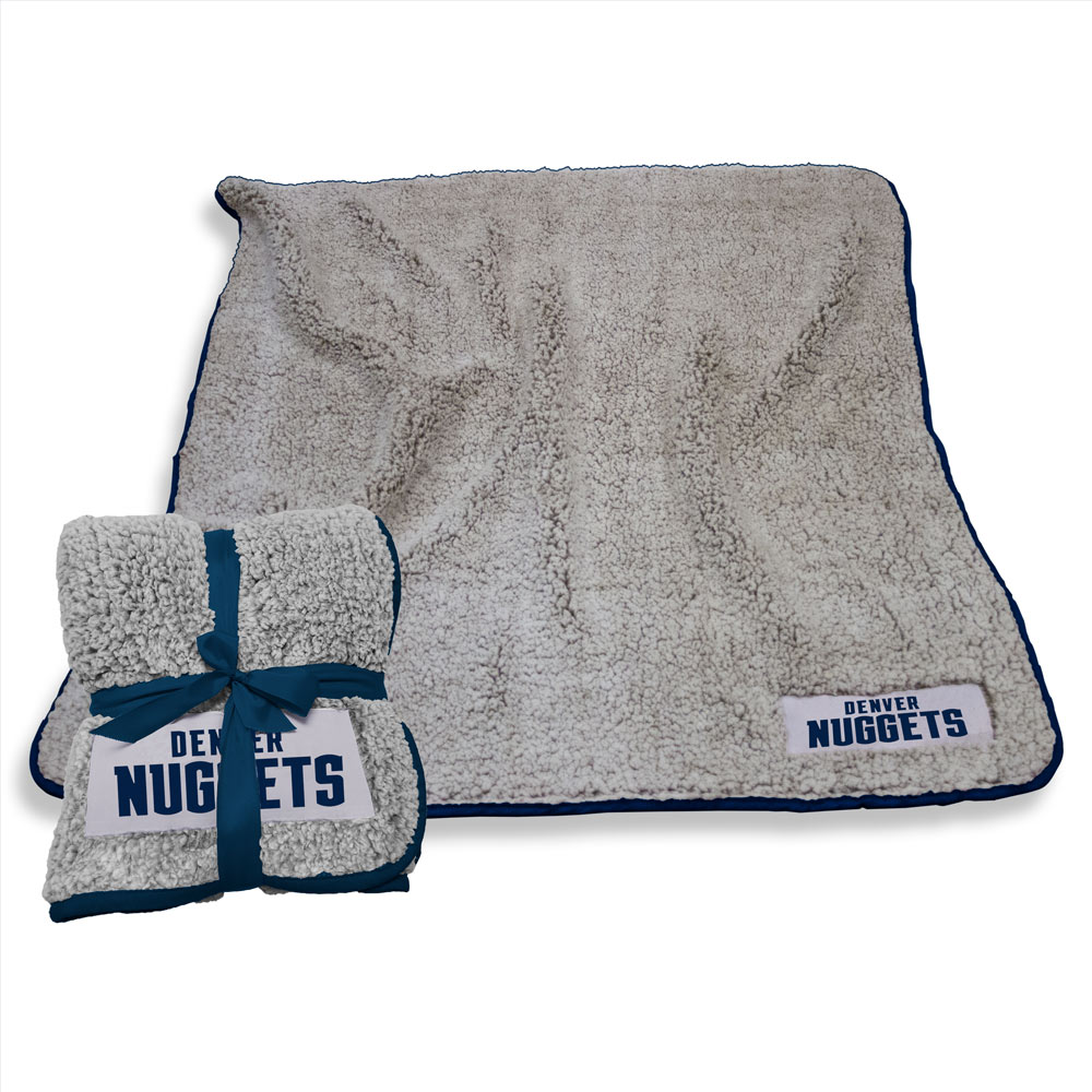 Denver Nuggets Frosty Throw Blanket