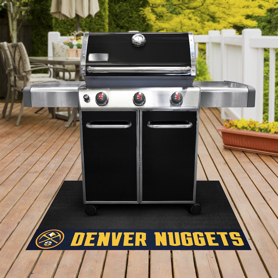 Denver Nuggets NBA Grill Mat