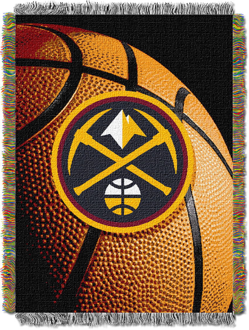 Denver Nuggets Real Photo Basketball Tapestry