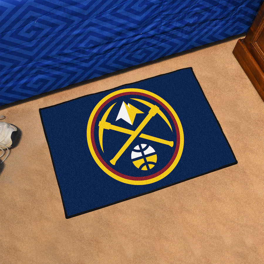 Denver Nuggets 20 x 30 STARTER Floor Mat