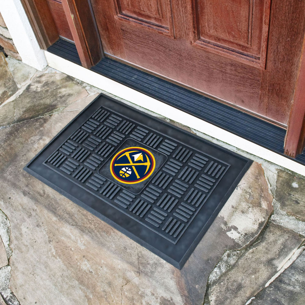 Denver Nuggets MEDALLION Vinyl Door Mat