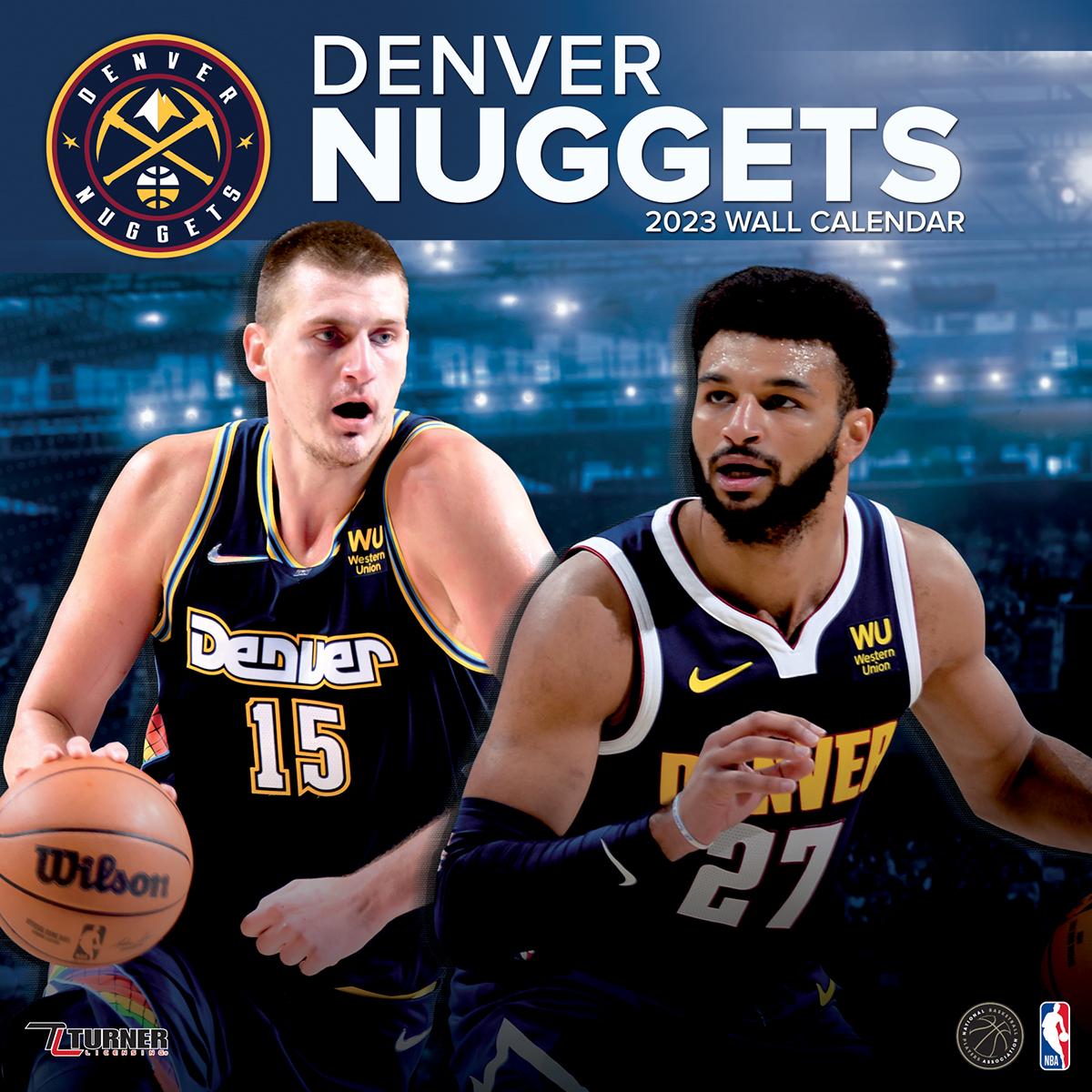 Denver Nuggets Roster: Denver Nuggets 2019 Wall Calendar