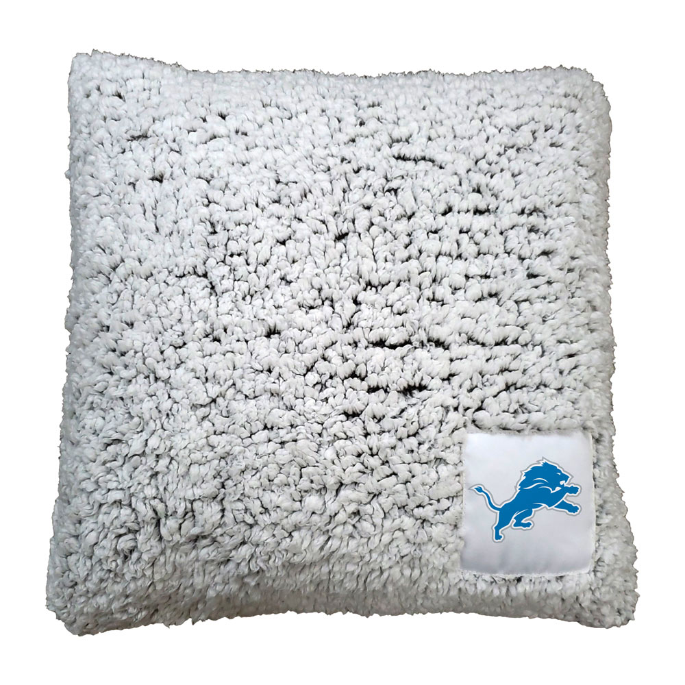 Detroit Lions Frosty Throw Pillow