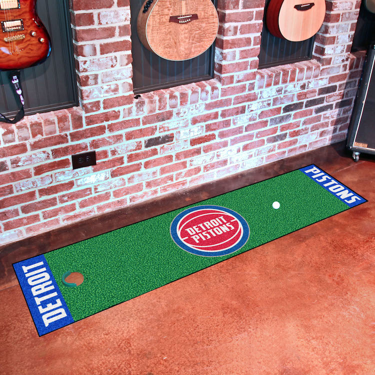 Detroit Pistons Putting Green Mat 18 x 72