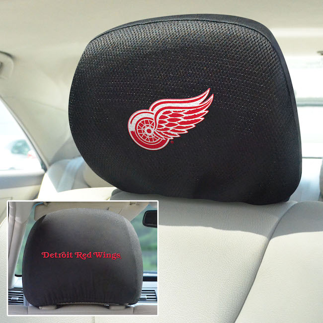 Detroit Red Wings Head Rest Covers