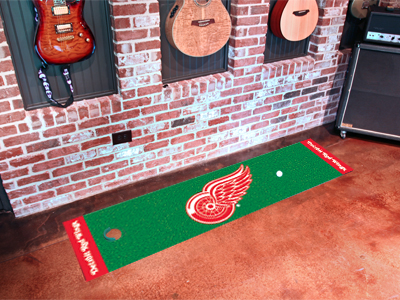 Detroit Red Wings Putting Green Mat 18 x 72