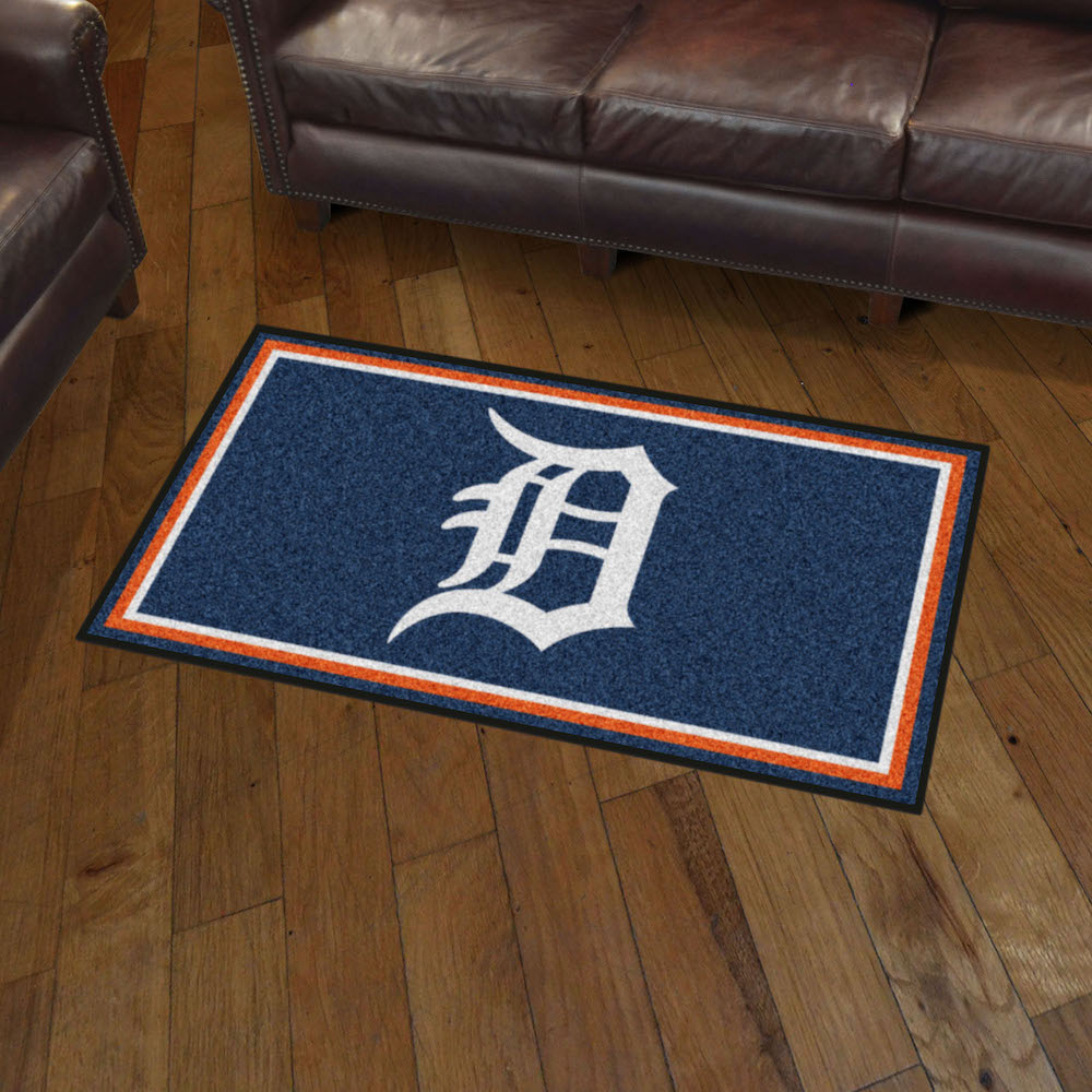 Detroit Tigers 3x5 Area Rug