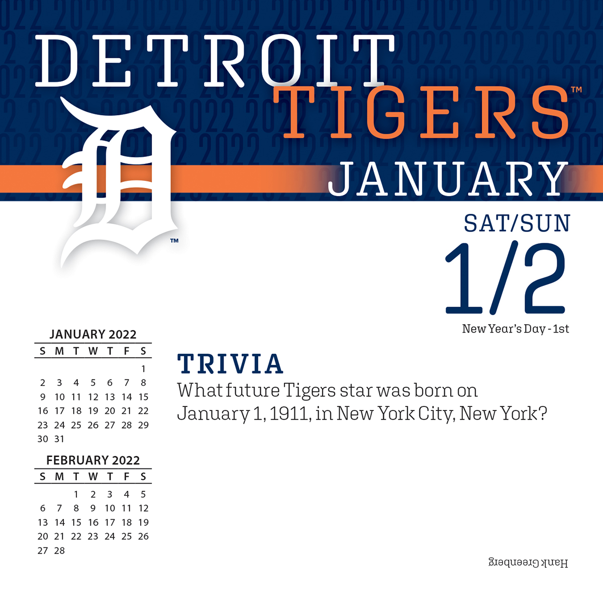 Detroit Tigers 2019 Page A Day Box Calendar Buy At Khc