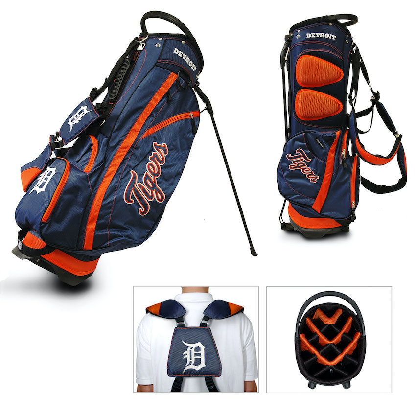 Detroit Tigers Fairway Carry Stand Golf Bag