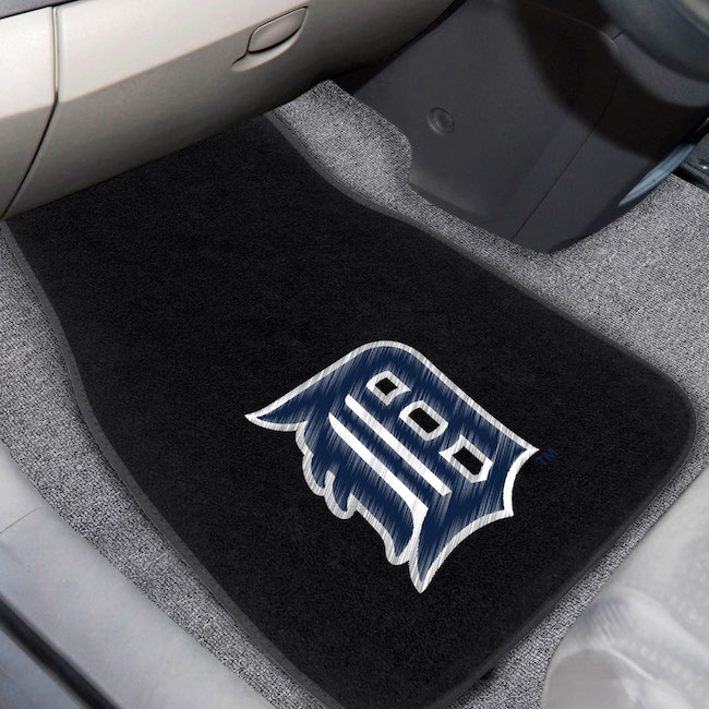 Detroit Tigers Car Floor Mats 17 x 26 Embroidered Pair