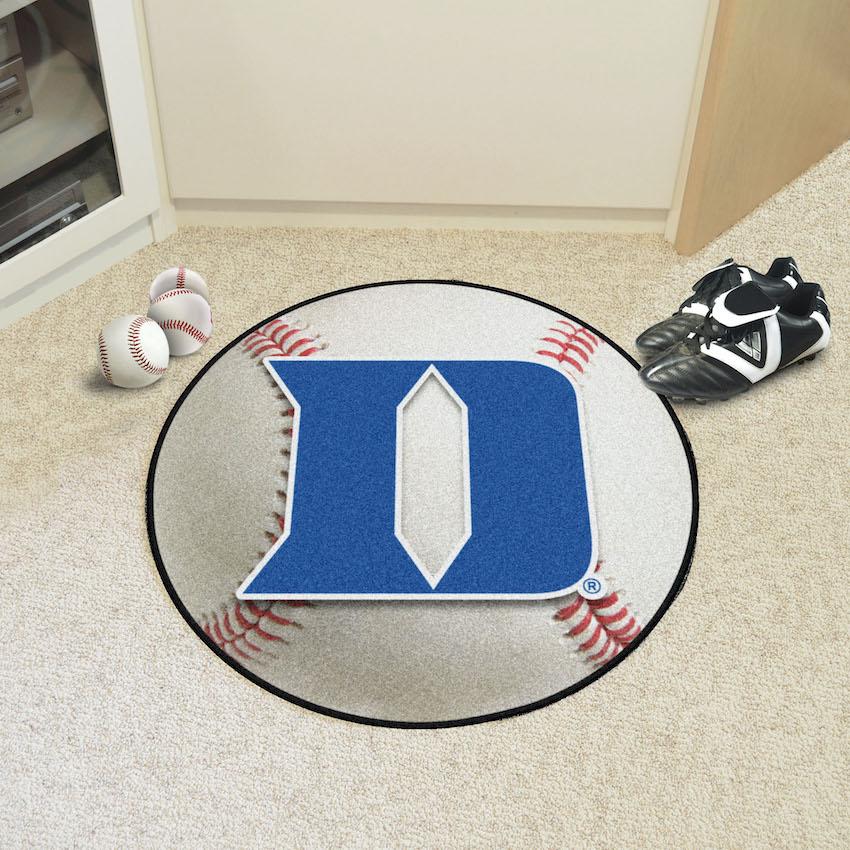 Duke Blue Devils D Logo Baseball Floor Mat Buy At Khc