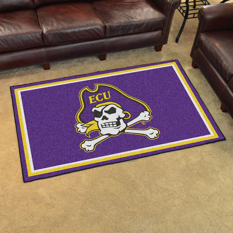 East Carolina Pirates 4x6 Area Rug Buy At Khc Sports