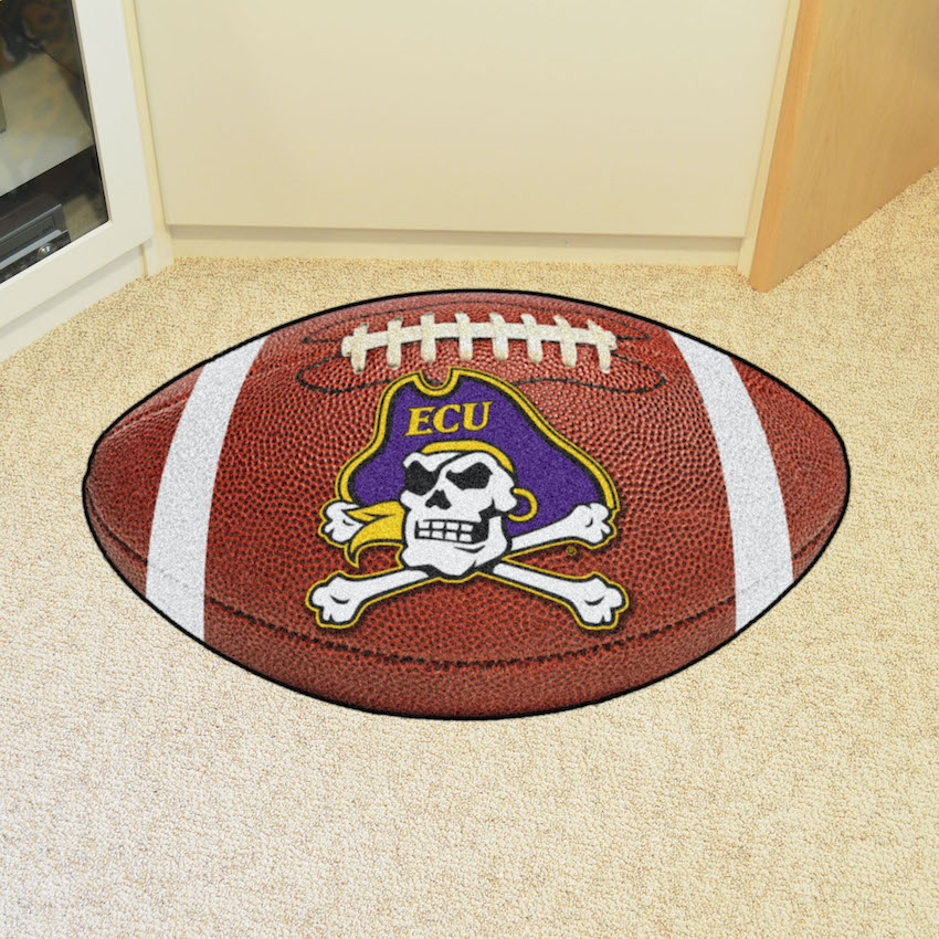 East Carolina Pirates 22 x 35 FOOTBALL Mat