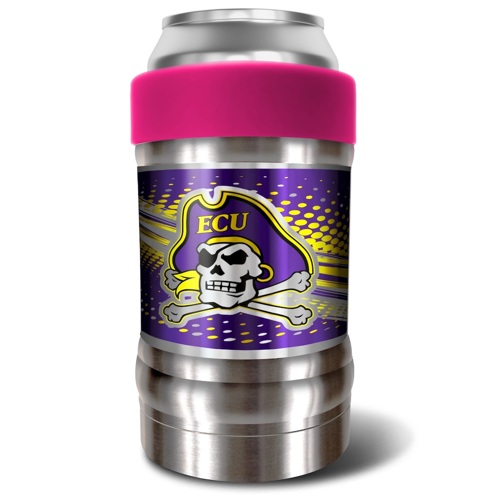 East Carolina Pirates LOCKER NCAA Insulated Can and Bottle Holder - Pink