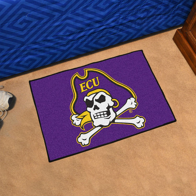 East Carolina Pirates 20 x 30 STARTER Floor Mat