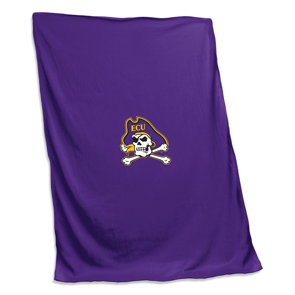 East Carolina Pirates Sweatshirt Blanket