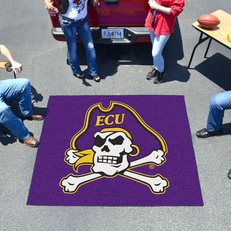 East Carolina Pirates TAILGATER 60 x 72 Rug