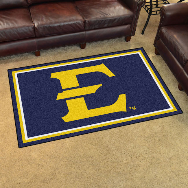 East Tennessee State Buccaneers 4x6 Area Rug
