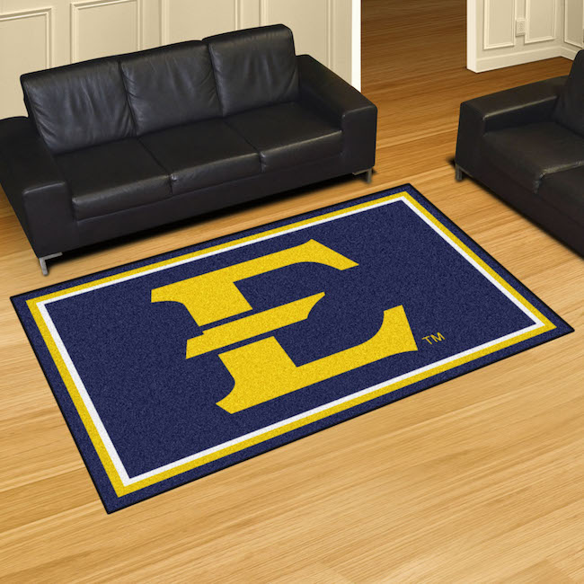 East Tennessee State Buccaneers 5x8 Area Rug