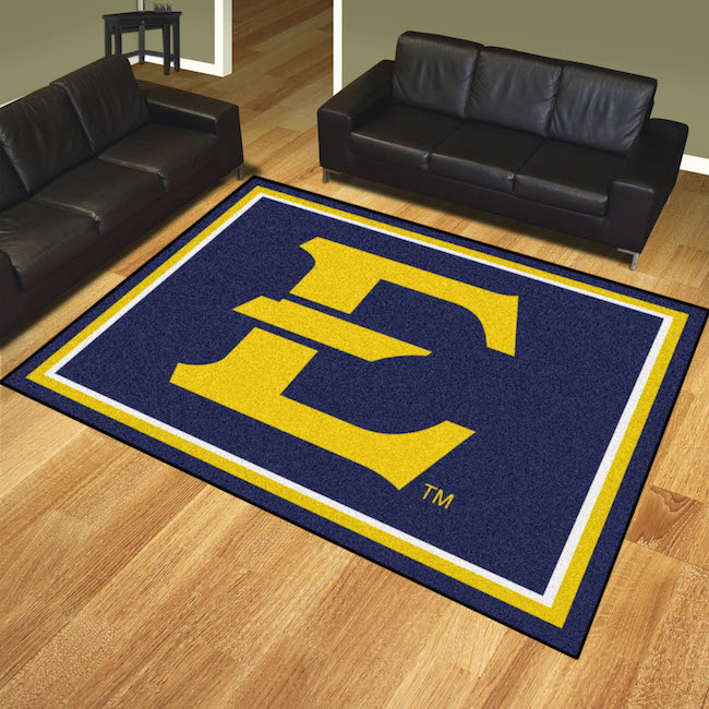 East Tennessee State Buccaneers Ultra Plush 8x10 Area Rug