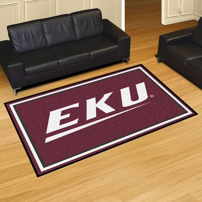 Eastern Kentucky Colonels 5x8 Area Rug