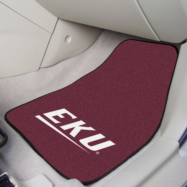 Eastern Kentucky Colonels Car Floor Mats 18 x 27 Carpeted-Pair