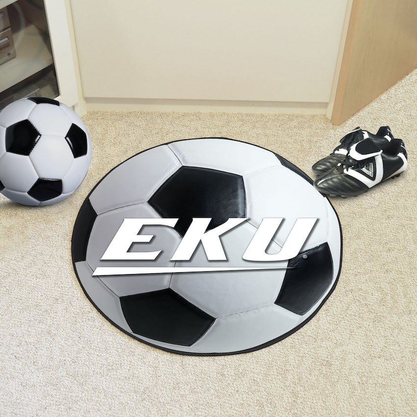 Eastern Kentucky Colonels SOCCER BALL Mat