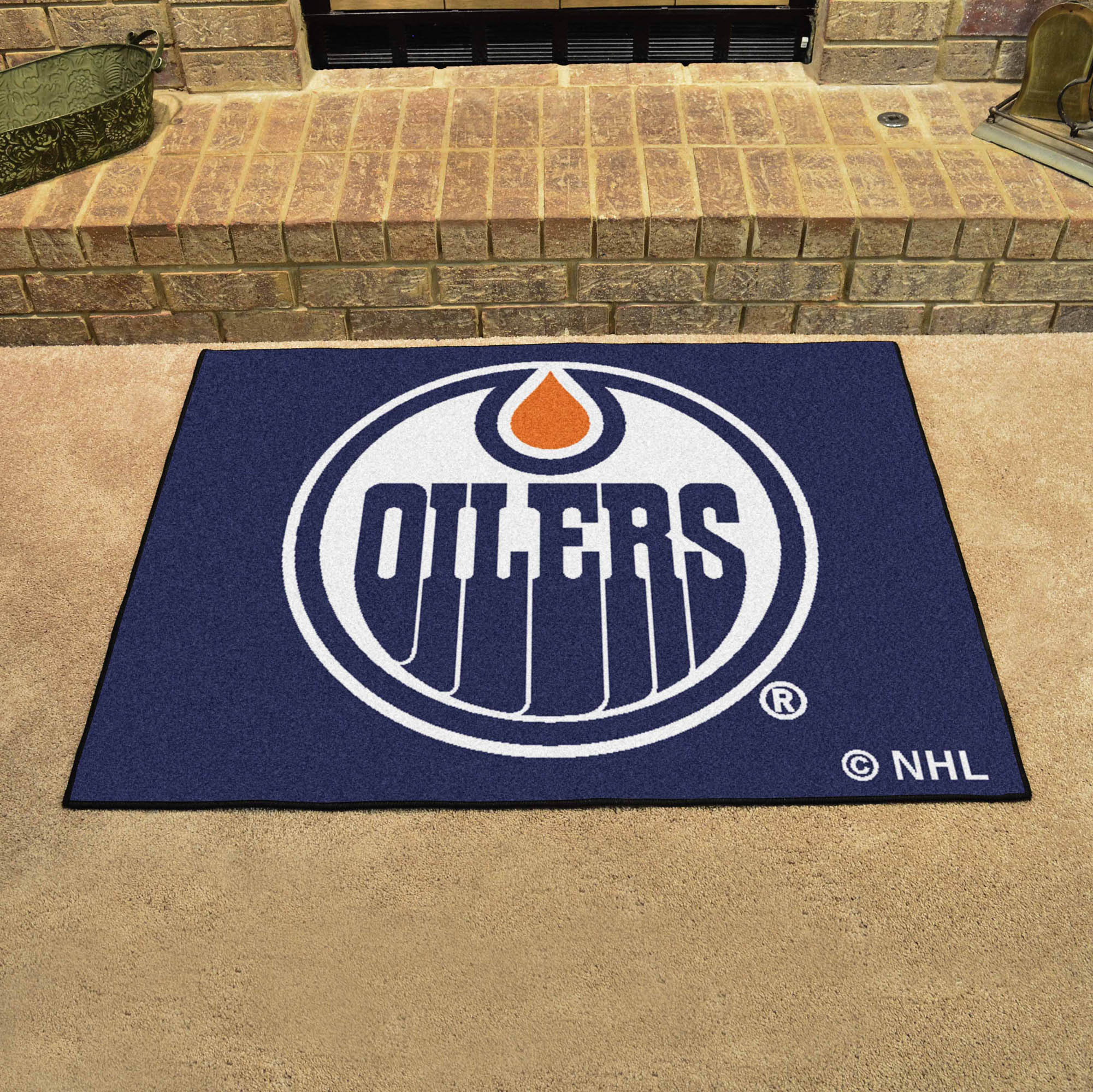 Edmonton Oilers ALL STAR 34 x 45 Floor Mat
