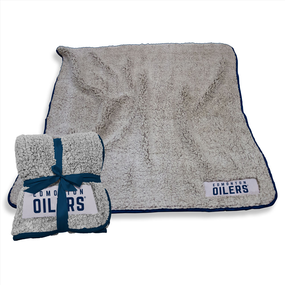 Edmonton Oilers Frosty Throw Blanket