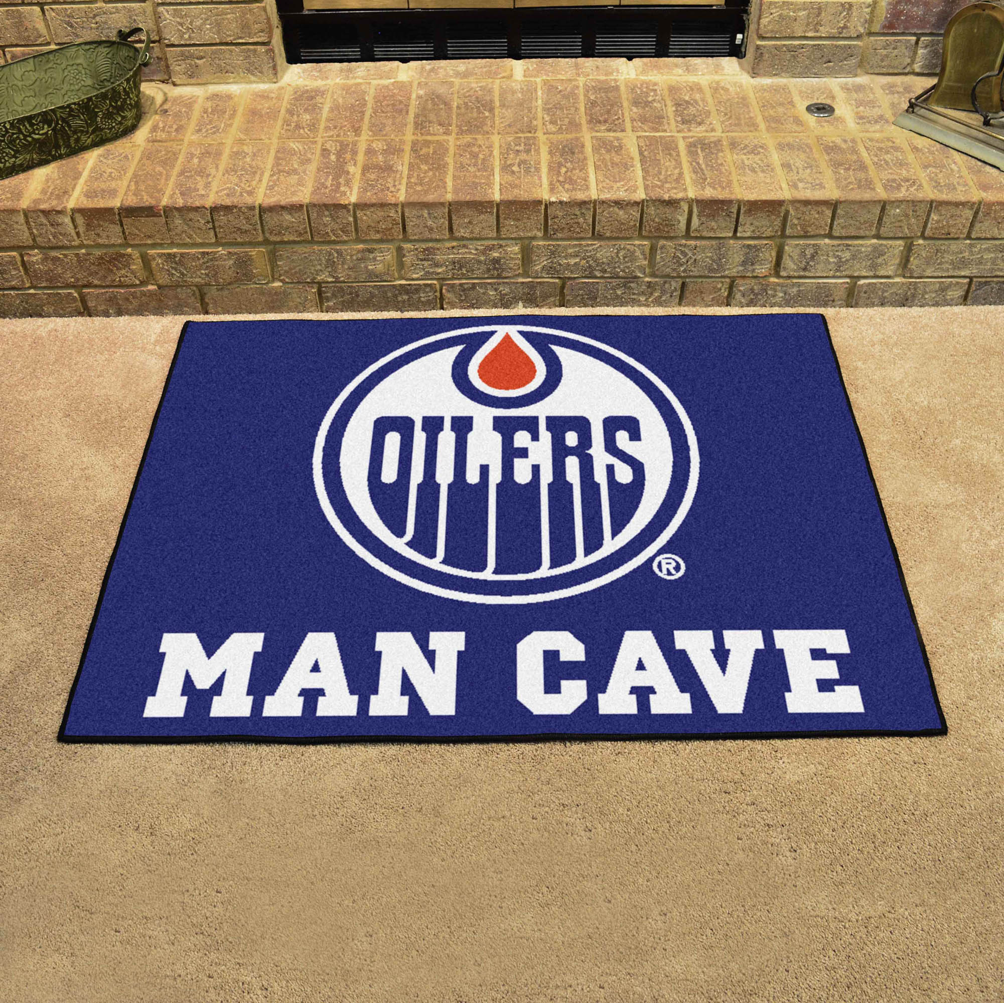 Edmonton Oilers ALL STAR 34 x 45 MAN CAVE Floor Mat