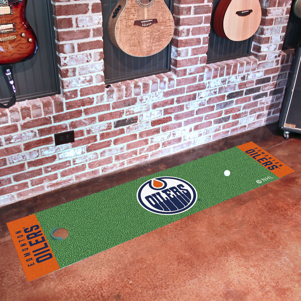 Edmonton Oilers Putting Green Mat 18 x 72