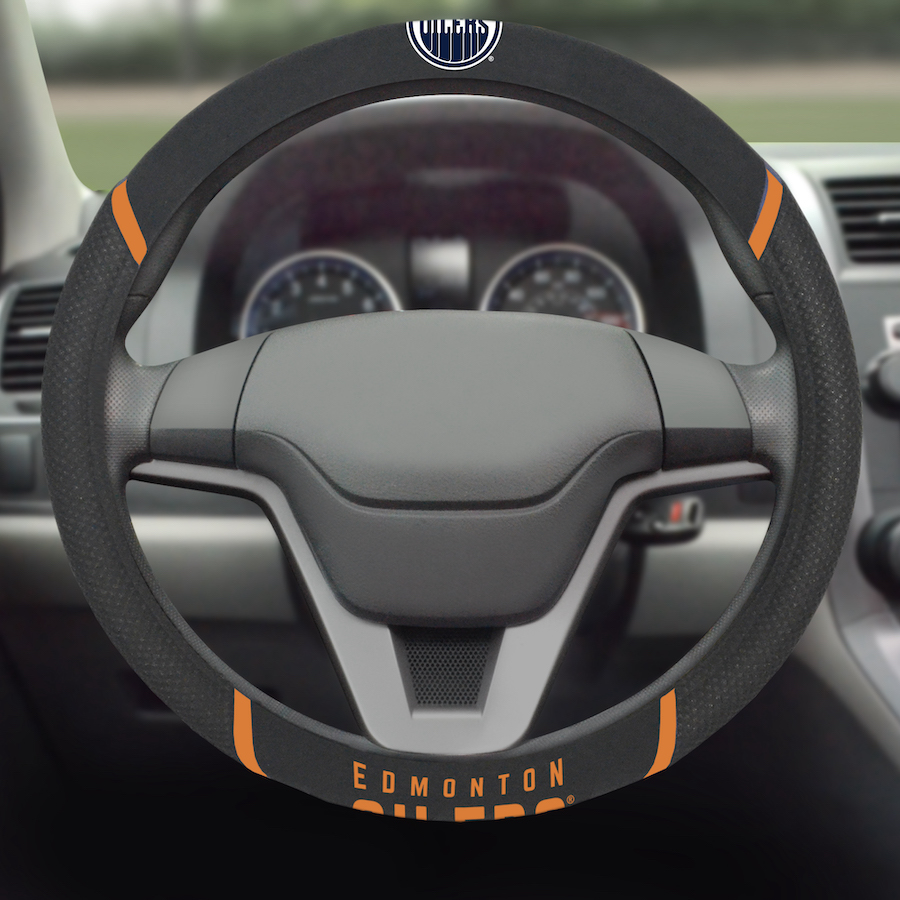 Edmonton Oilers Steering Wheel Cover