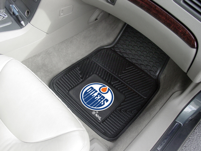 Edmonton Oilers Car Floor Mats 18 x 27 Heavy Duty Vinyl Pair