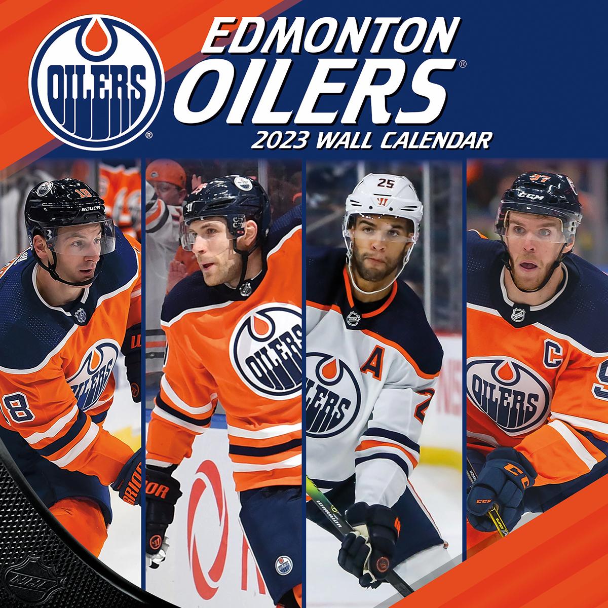 Edmonton Oilers 2019 NHL Wall Calendar - Buy at KHC Sports