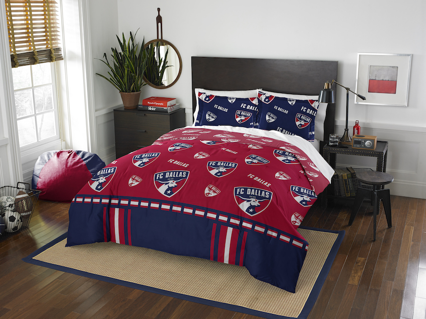 FC Dallas QUEEN/FULL size Comforter and 2 Shams