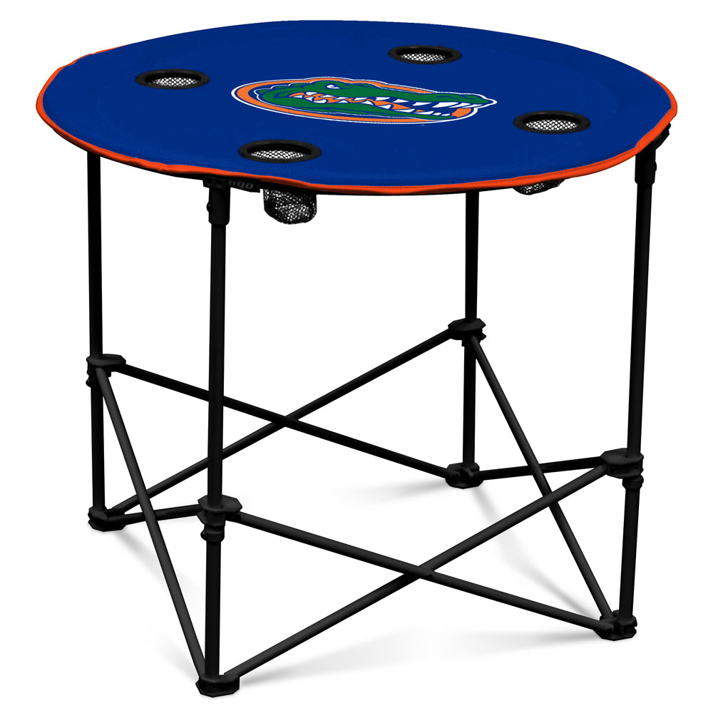 Florida Gators Round Tailgate Table