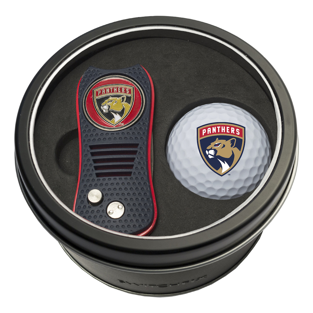 Florida Panthers Switchblade Divot Tool and Golf Ball Gift Pack